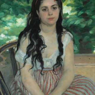 Auguste Renoir En été; La bohémienne
